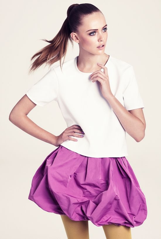81e16dd92 h m pink bubble skirt. available this winter