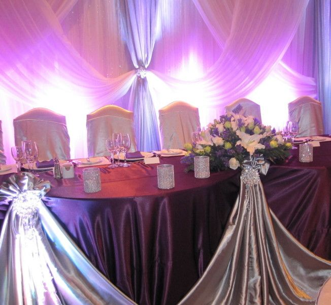 Wedding Head Table Decoration Ideas: Sultana's Wedding Decor, Wedding