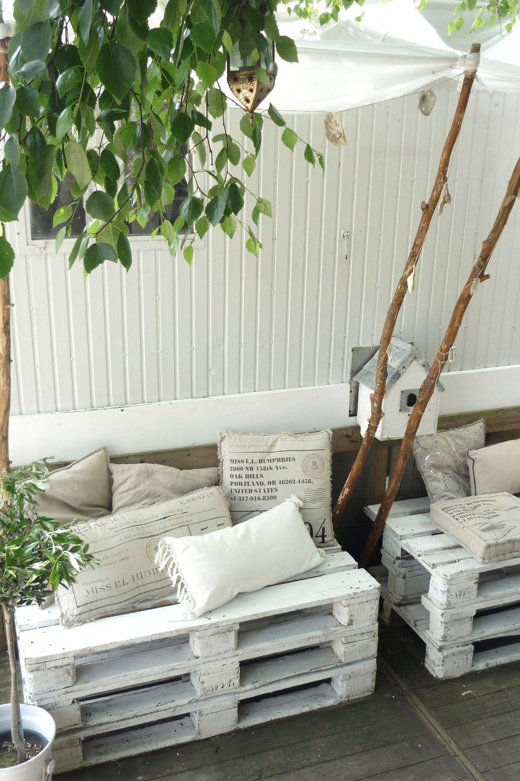 DIY Pallets furniture