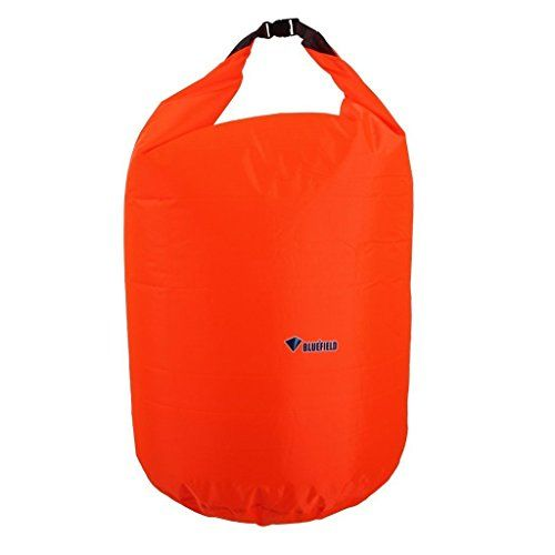 e97ef92e46ab Bluefield Waterproof Outdoor Floating Dry Bag for Kayaking Camping Boating  and Hiking 70L Orange     You can get more details by clicking on the image.