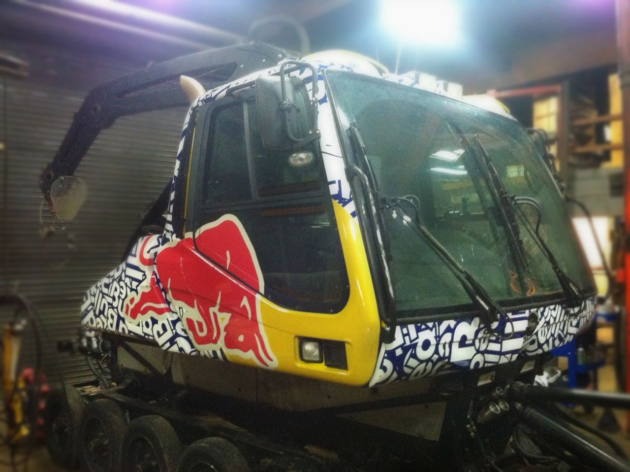 Red Bull BR350 winch cat at Boreal