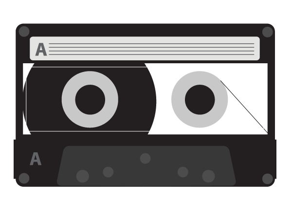 Vector Cassette Tape Download Free Vector Art Cassette Tapes Digital Scrapbooking Printables Branding Design Studio
