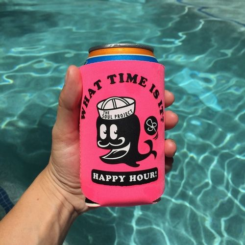 The Soul Project - Don Bueno HAPPY HOUR Koozie
