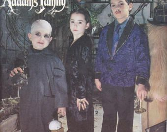 Simplicity 7991 Costume Pattern Kids Addams Family Costumes Gomez