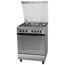 INDESIT - Cucina Elettrica I6TMH2AF (X) / I 4 Fuochi Gas ...