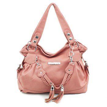 Borlas Casual y sólido del bolso de hombro del color del diseño de la Mujer para Vender - La Tienda En Online IGOGO.ES