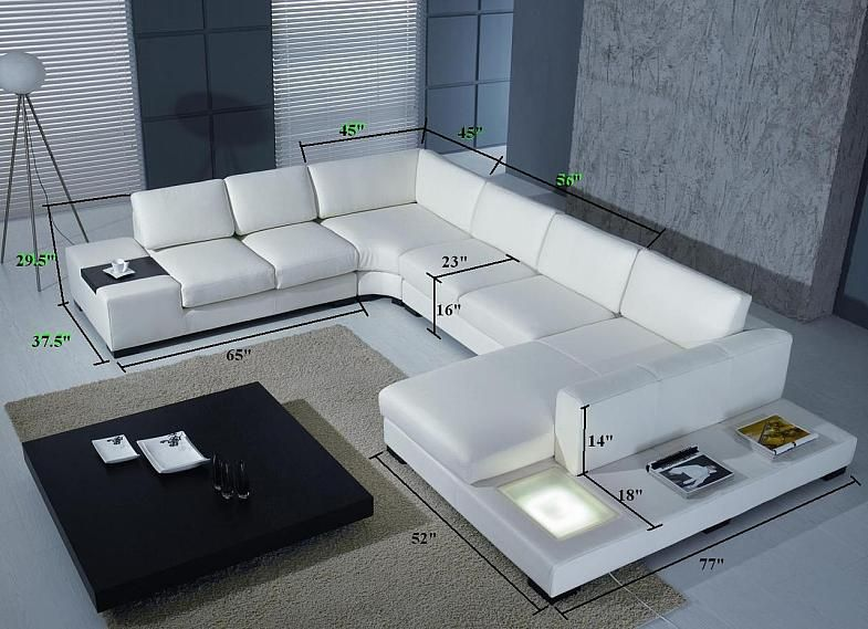 Best Italian Leather Sectional Sofa Complete Living Room Set 640 x 480