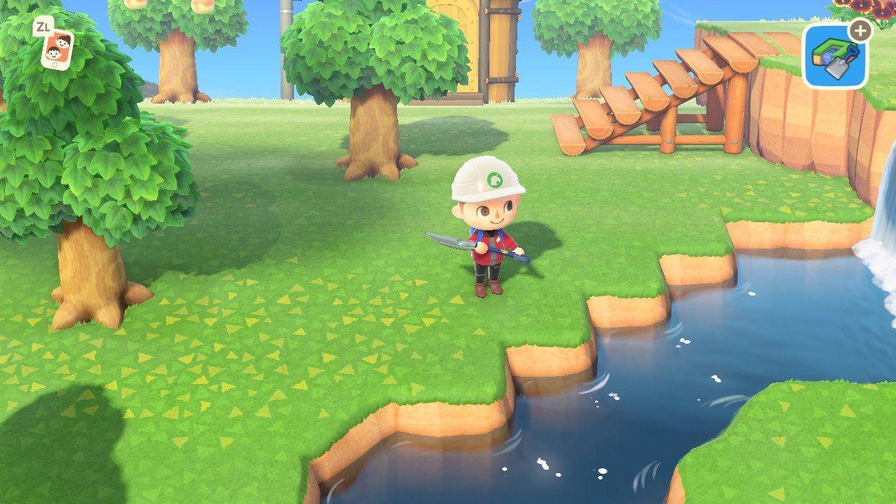 Animal Crossing New Horizons Build A Bridge