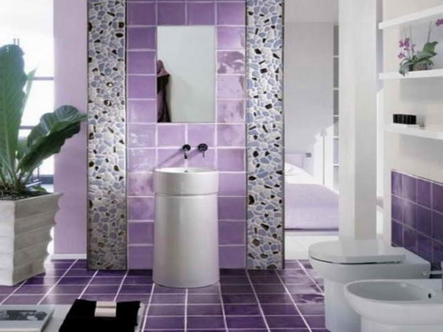 Charming Bathroom Tiles Styles Contemporary - The Best Bathroom ...