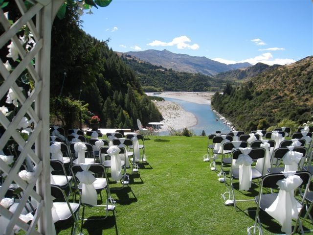 This Is The View From Our Wedding Venue Trelawn Place Arthurs Point Queenstown