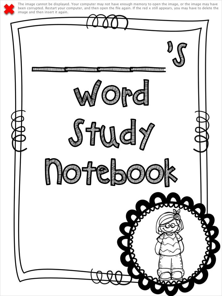 Word Study and Interactive Notebook Bundle: A Year Long