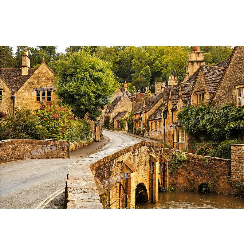 Castle Combe A Quaint English Village England Photography Castle Combe English Village