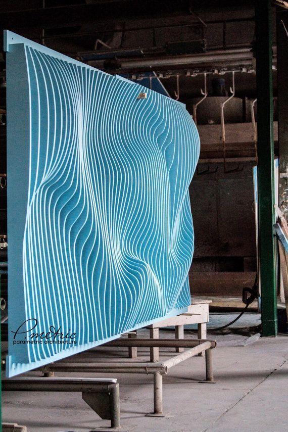 parametrische wand von pmetric auf etsy ideas for work pinterest deckengestaltung. Black Bedroom Furniture Sets. Home Design Ideas