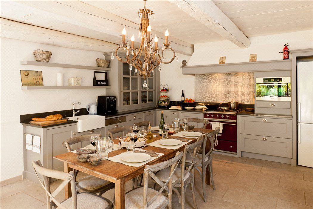 Property For Sale L Isle Sur La Sorgue Luberon Vaucluse Provence Kitchen Family Kitchen My Dream Home