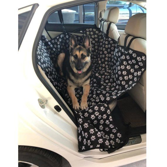 Car Hammock Protector Dog Seat Cover Vehicle Rear Dogs Cats Bed Pets House This