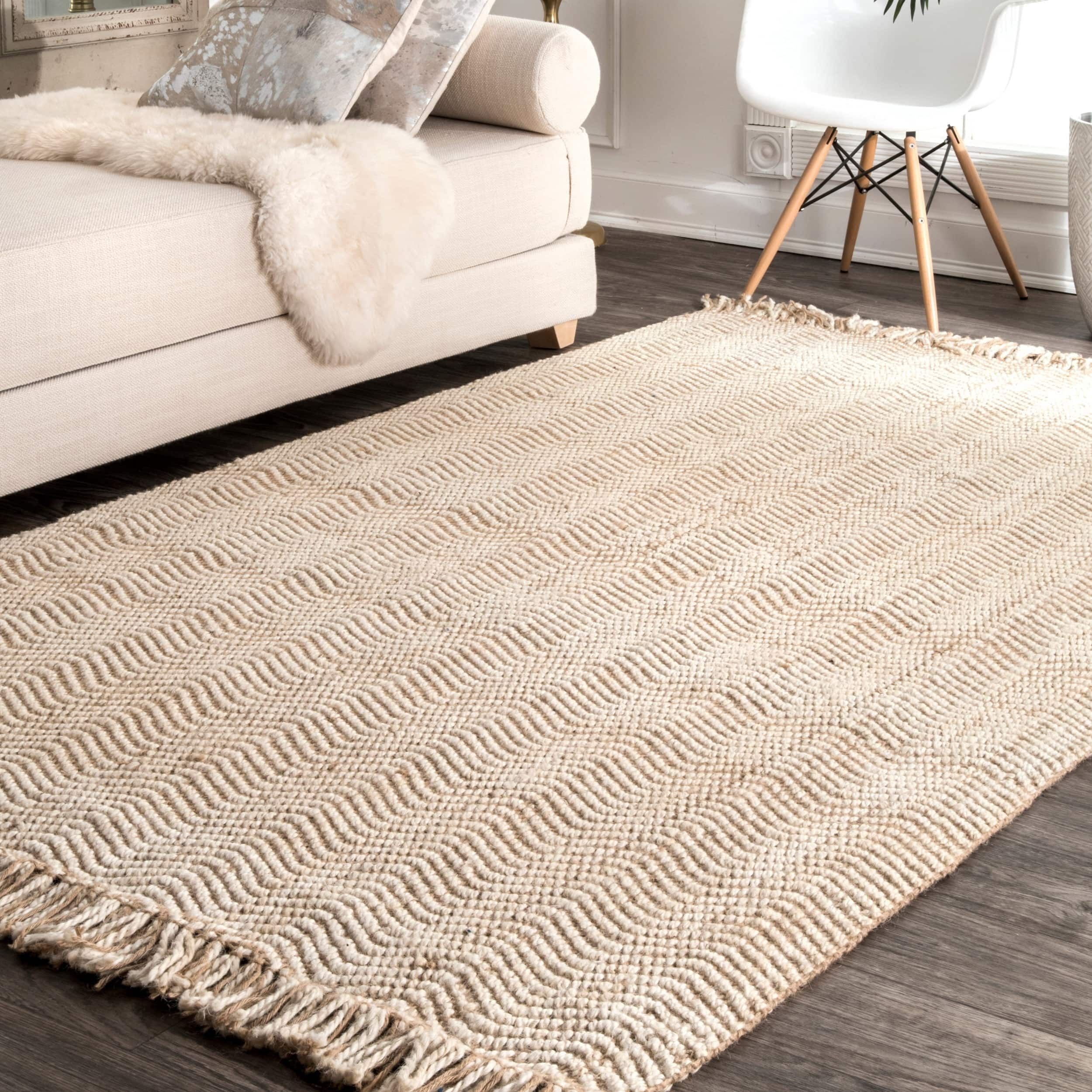 Nuloom Handmade Texture Turku Jute Rug 9 X 12 Jute Rug Rugs In Living Room Sisal Area Rugs
