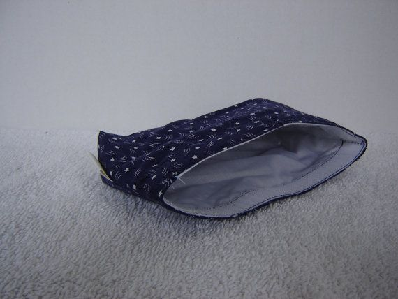 Small Eco Bagin Blue w/White Stars by KerrysCrafts on Etsy, $5.00