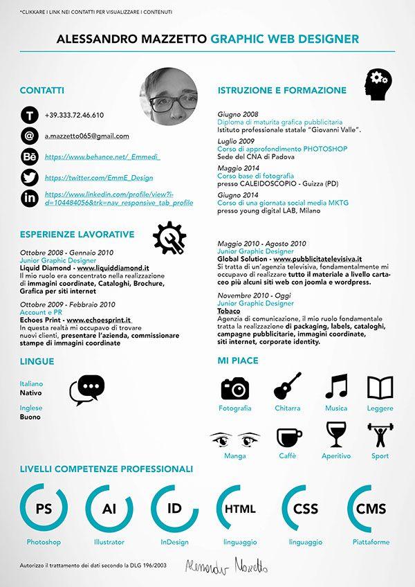 Curriculum Vitae On Behance Curriculum Vitae Curriculum Resume