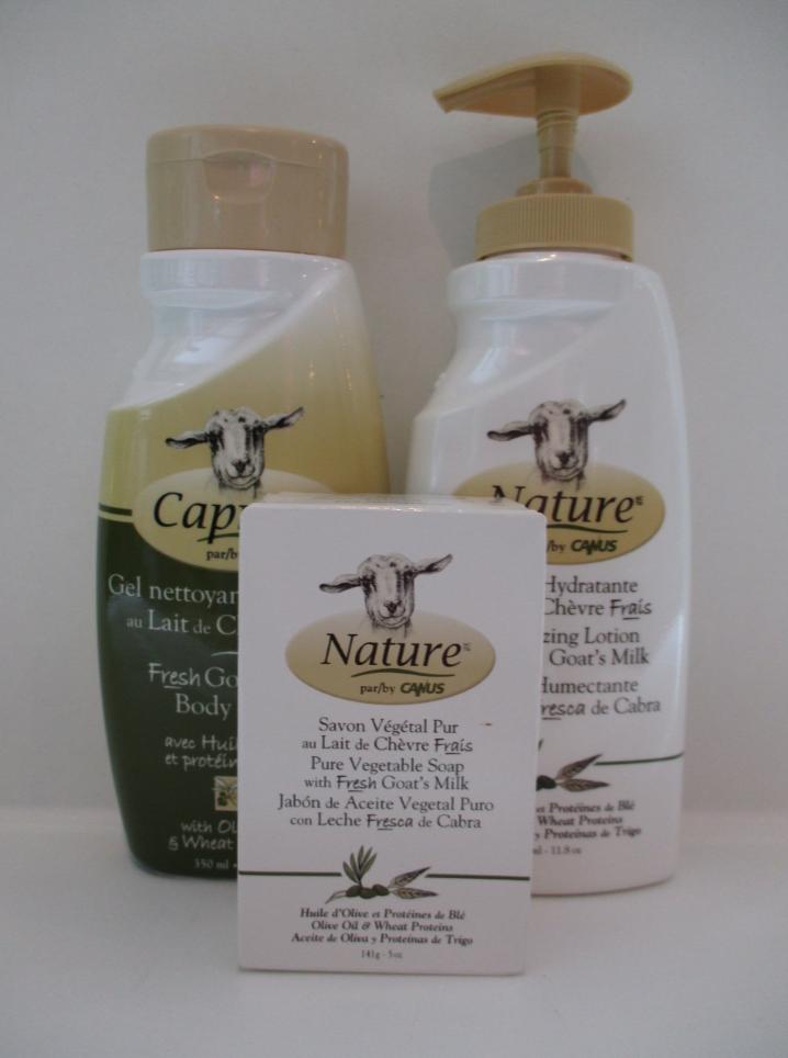 Caprina goats milk skin care combines the benefits of ...