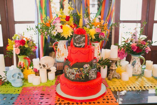 Dia de los Muertos Wedding Ideas | Dia de, Weddings and Wedding 2015
