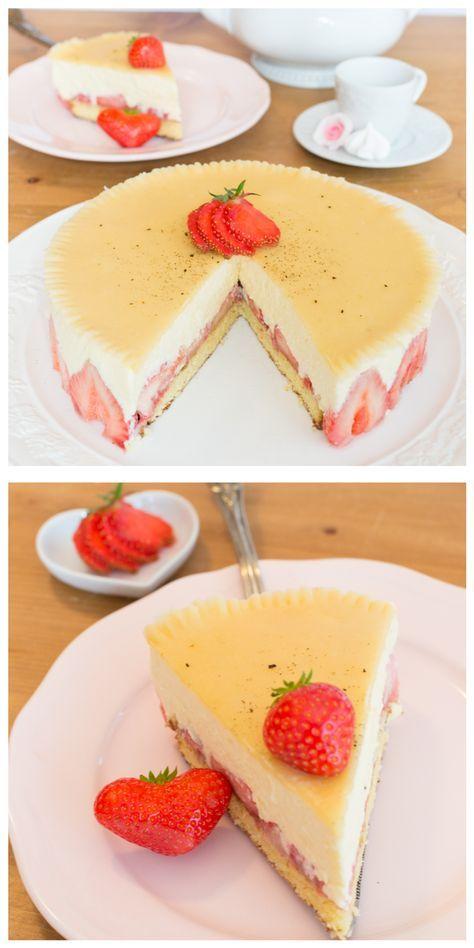 Frau Zuckerfee: Rezept für schnelle und einfache Erbeer-Torte