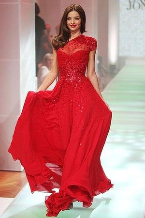 e37bece59 Alex Perry Miranda Kerr red dress for David Jones
