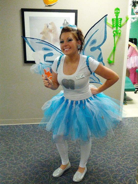 Diy Tooth Fairy Halloween Costume Idea Halloween Costumes