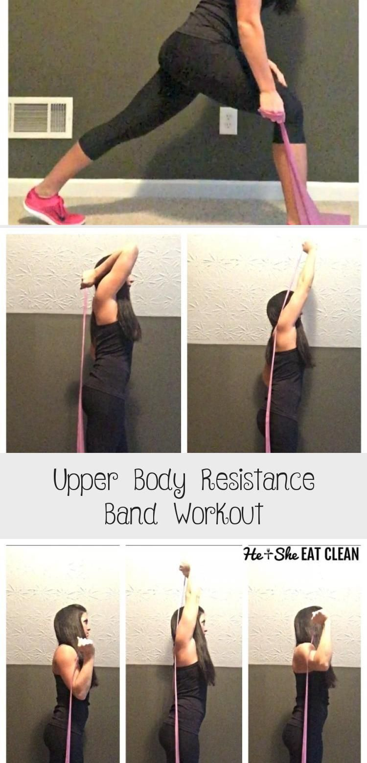 One Arm Rows - Grab your resistance band and blast your upper body with this upper body resistance b...