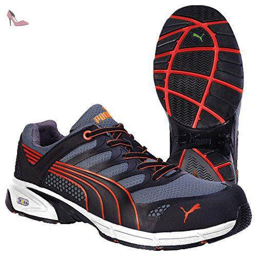 Puma 642540.47 Fuse Motion Red Chaussures de sécurité Low S1P HRO SRA  Taille 47 - Chaussures 457ba8d418b7