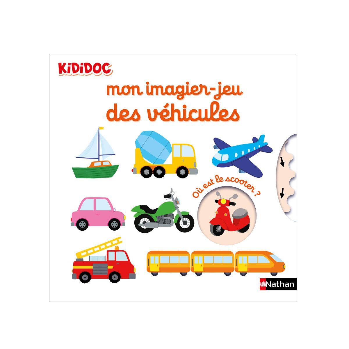 Livre Kididoc Mon Imagier Jeu Des Vehicules Pour Enfant De 1