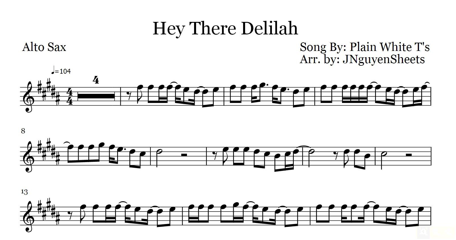how to play hey there delilah on guitar for beginners