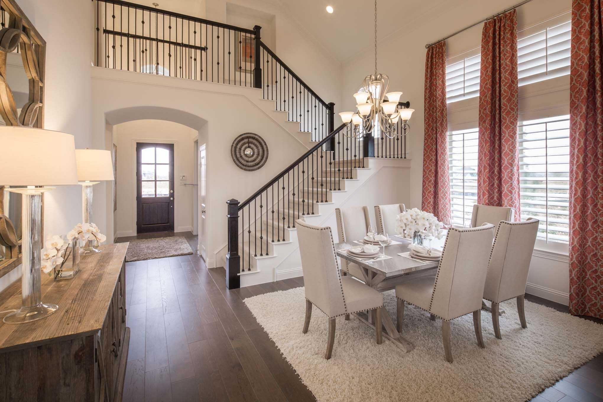 Highland Homes Plan 243 Model Home in