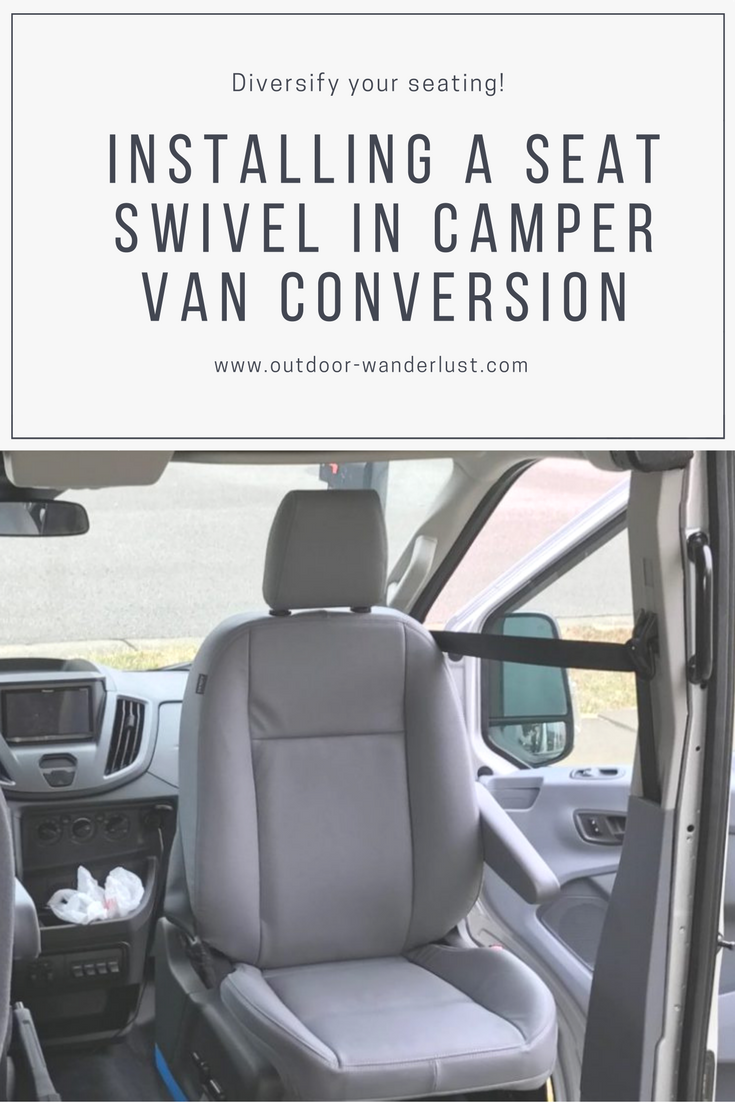 Van Conversion Install Seat Swivel In Ford Transit Ford Transit