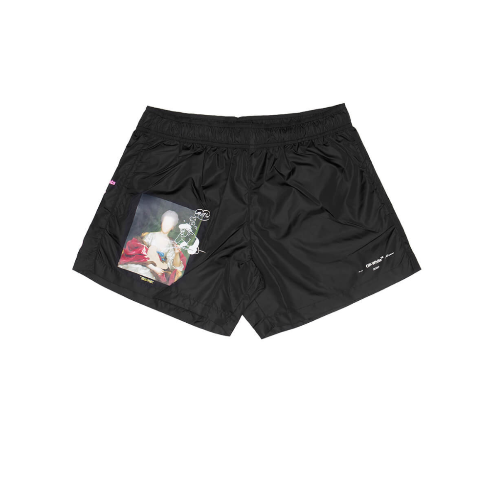 Mariana De Silva Swimshorts From The Pre F W2019 20 Off White C O Virgil Abloh Collection In Black [ 1000 x 1000 Pixel ]