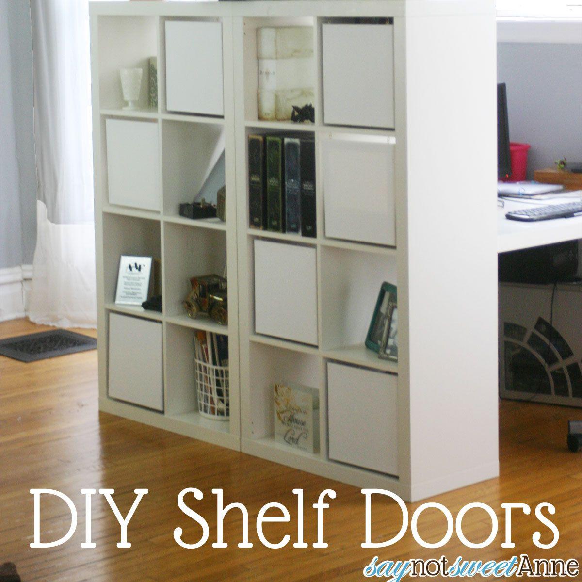 Ikea Expedite 10 Shelf Doors Sweet Anne Designs Diy Shelves Ikea Bookcase Shelves