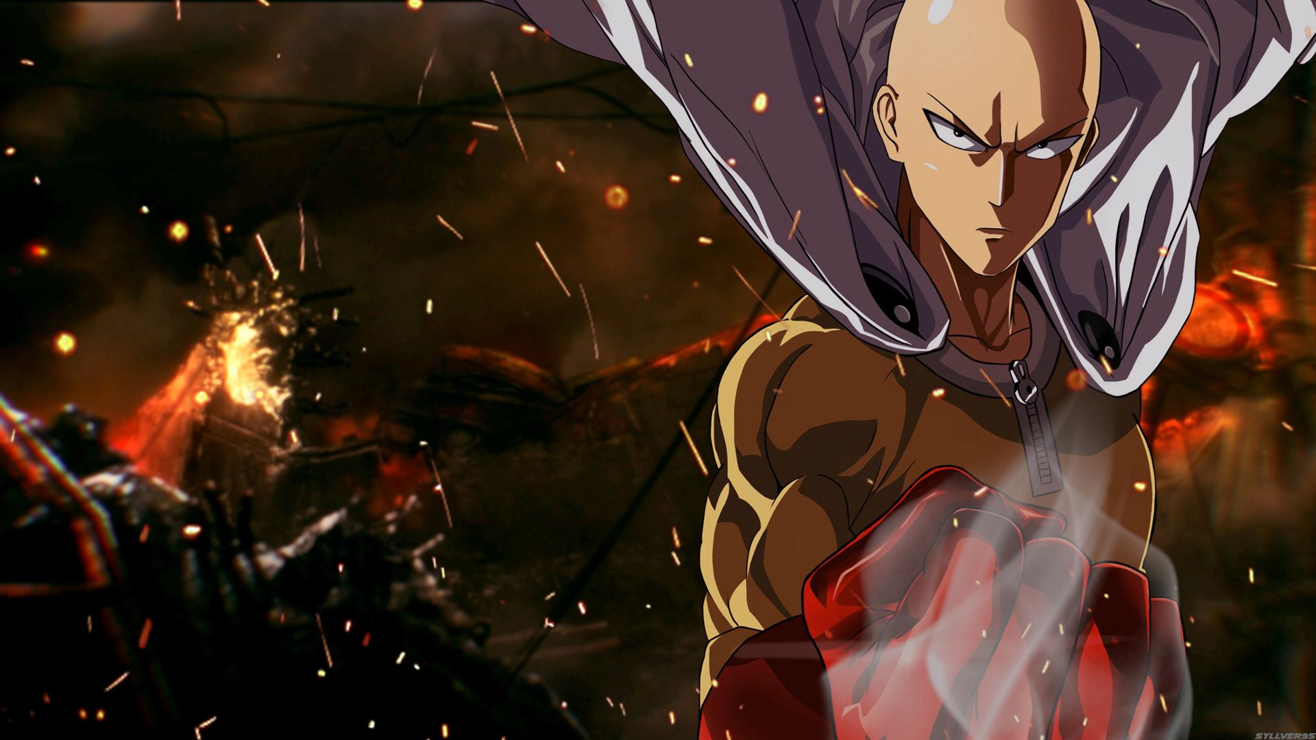 142 Saitama One Punch Man Hd Wallpapers Backgrounds