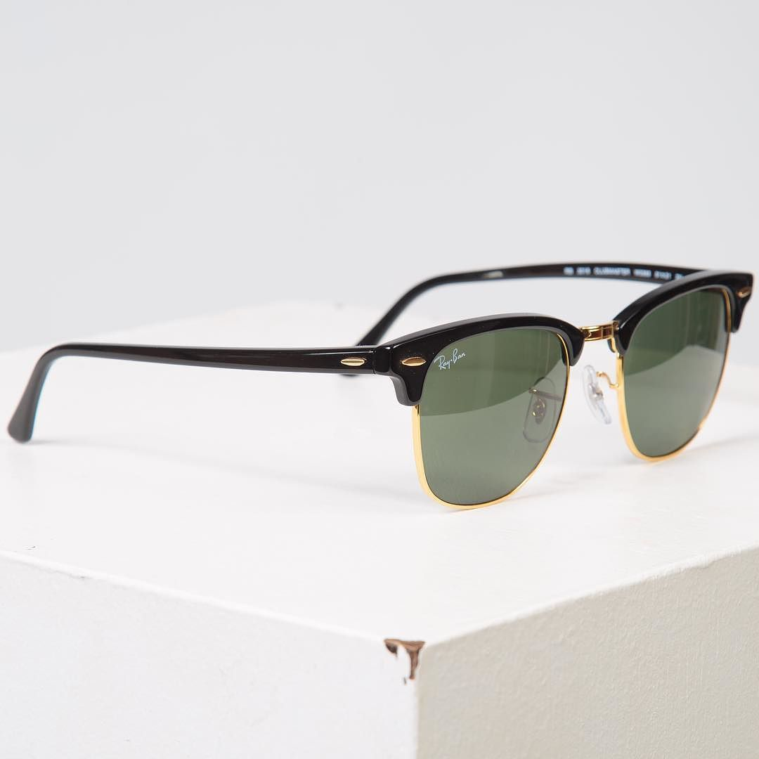 2c239650761 Perhaps  rayban s most iconic sunglasses shape  the Clubmaster is truly  timeless and universally flattering. Shop in store and online now   fatbuddhastore ...