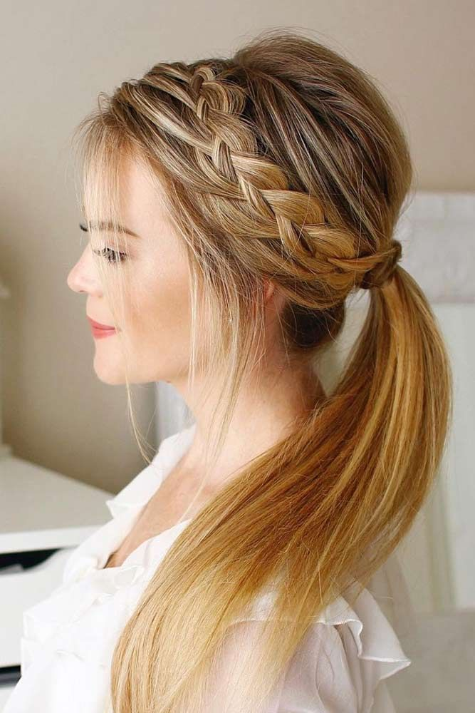 36 Amazing Graduation Hairstyles For Your Special Day Hair Styles Cute Ponytail Hairstyles Ball Hairstyles