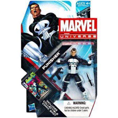 Marvel Universe Marvel Universe Series 19 Punisher 3.75 inch Action Figure #13, Multicolor