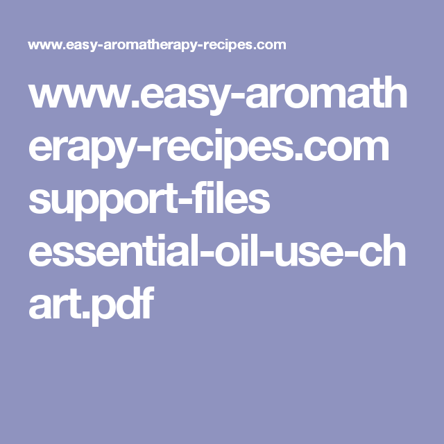Easy aromatherapy recipes support files essential oil also use rh pinterest