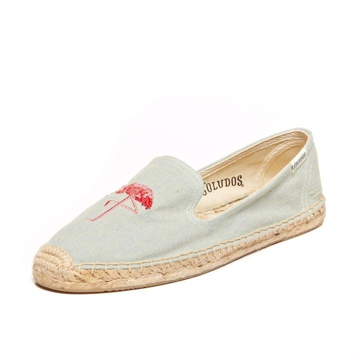 Espadrilles Flamingos Broderie ChambraySoludos DhsBlQX