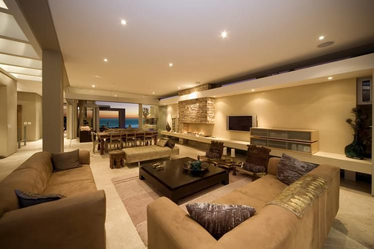 Villa Azure In Cape Town Homedsgn A Daily Source For Inspiration And Fresh Ideas On Int Large Living Room Decor Large Living Room Design Perfect Living Room Spacious modern living room interiors