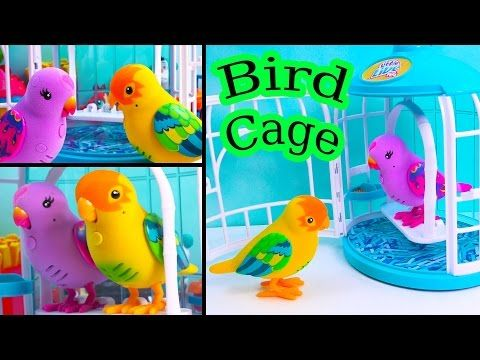 Little Live Pets Unboxing Youtube Little Live Pets Baby Tigers Bird Cage