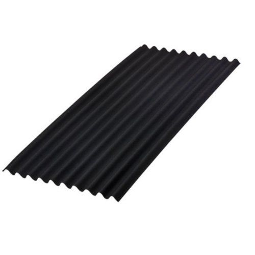 Good Roofing For My Shed Onduline Corrugated Sheets And Accessories Black Onduline Bitumen Corrugate Corrugated Roofing Corrugated Sheets Cladding Materials