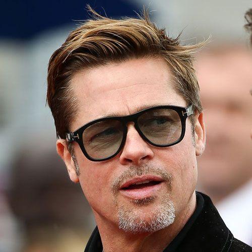 Brad Pitt Haircut 2019 | Beauty | Brad pitt haircut, Beard styles ...