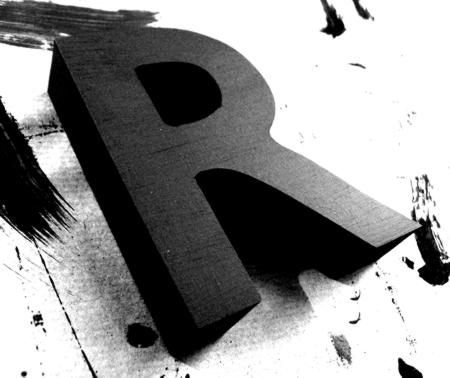 Letter r 3d letters 3d and alphabet soup letter r thecheapjerseys Images
