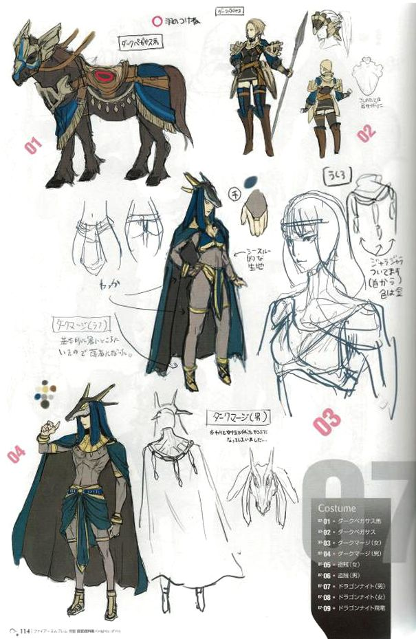 Preview images revealed for The Art of Fire Emblem ...