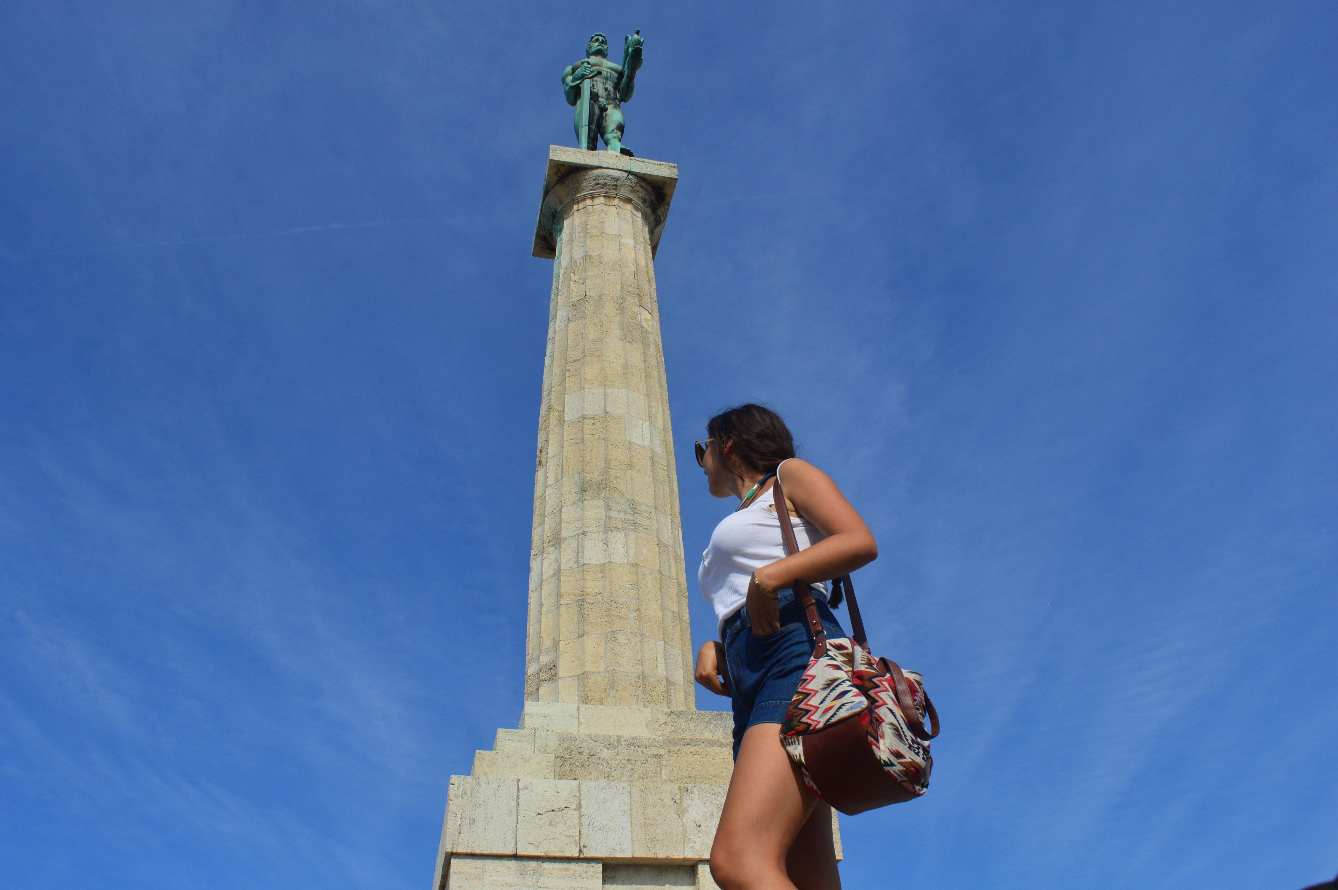 Spomenik Pobednik Kalemegdan Beograd Beograd