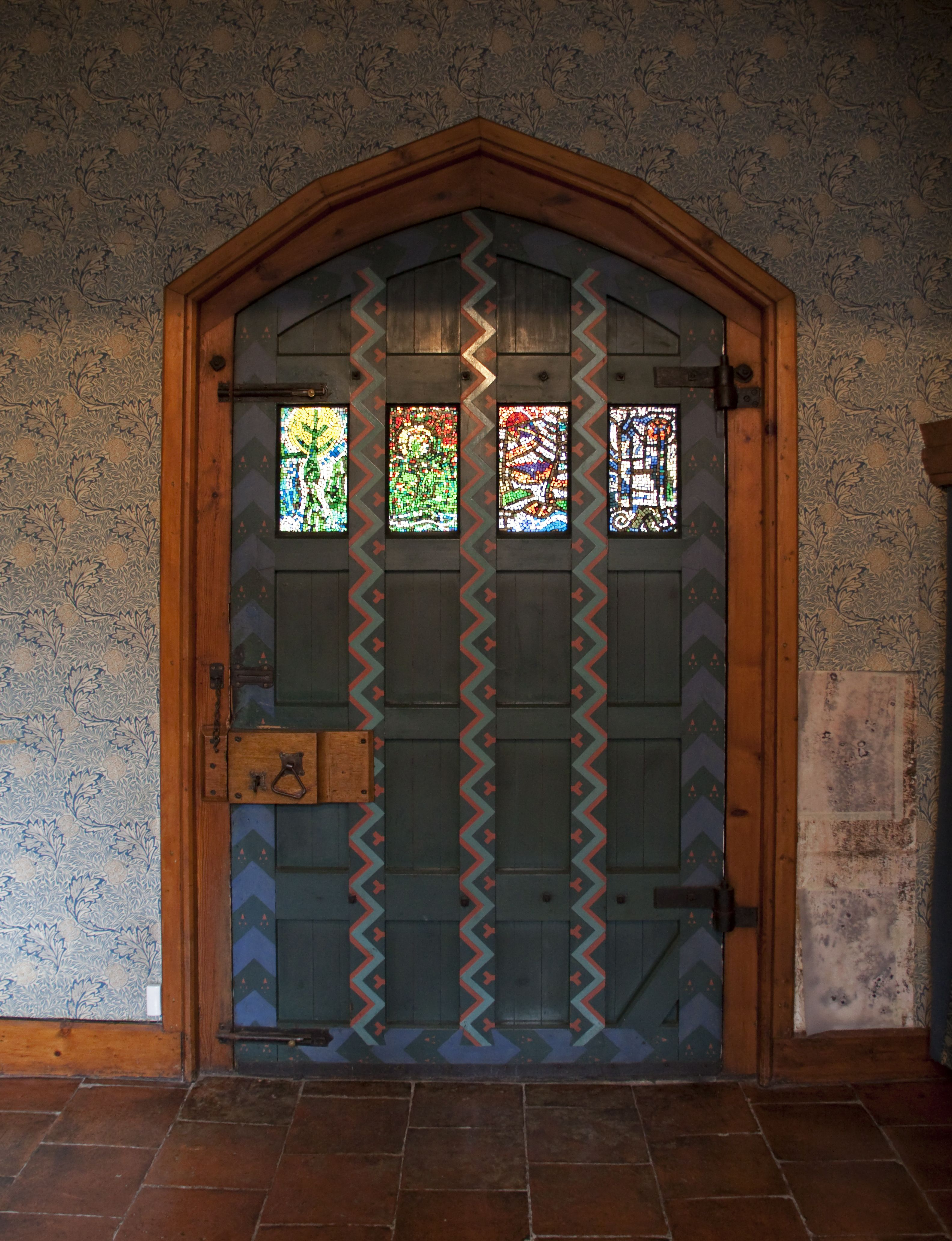 Stained glass interior doors how to install sliding barn