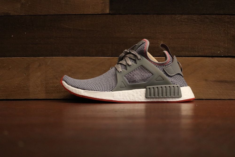 d85ade9276d Adidas NMD XR1 Grey Three Solar Red  fashion  clothing  shoes  accessories